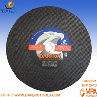 14'' 355x3x25.4MM Resin Bonding Agent and Flat Shaped Shape metal cutting disc price
