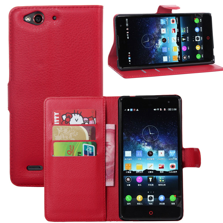 leather cover case for zte nubia z7 max