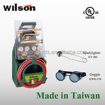Wilson UL LISTED KHP-180 Gas Cutting Welding Portable Torch Kit Harris style