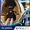 9D Cinema Leather Chair Flight/Driving/Shooting/Racing Simulator Arcade Game Machine China