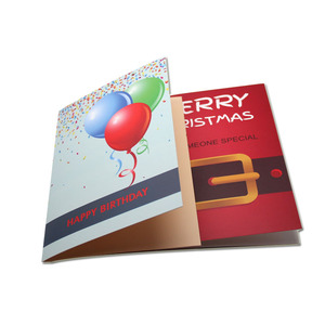 Programmable MP3 Singing Happy Birthday Musical Greeting Card