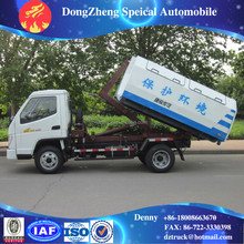 T-King arm roll off type 3T small garbage truck