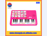 custom music toy kids sound module piano with microphone for promotion