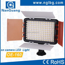 OEM Daylight 5600K LED video light on camera light OE-160