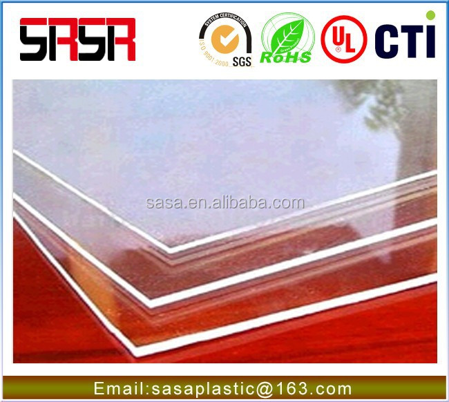 extruded rigid plastic pvc sheet for printing and packaging