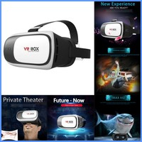 Wholesale Alibaba VR BOX 2.0 Generation Virtual Reality VR 3D Glasses bf film blue