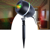 New Egg Shape Outdoor Christmas Projection Lights With 3M Lead Wire