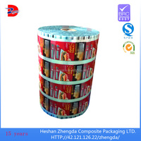 frozen food packaging thermal lamination plastic film for cheese