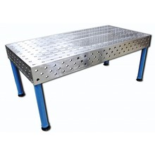 3D Welding Table with Jigs Fixture GG25/Steel 52/3 1200x2400x200