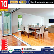 puertas plegables de aluminio / exterior accordion doors / folding doors