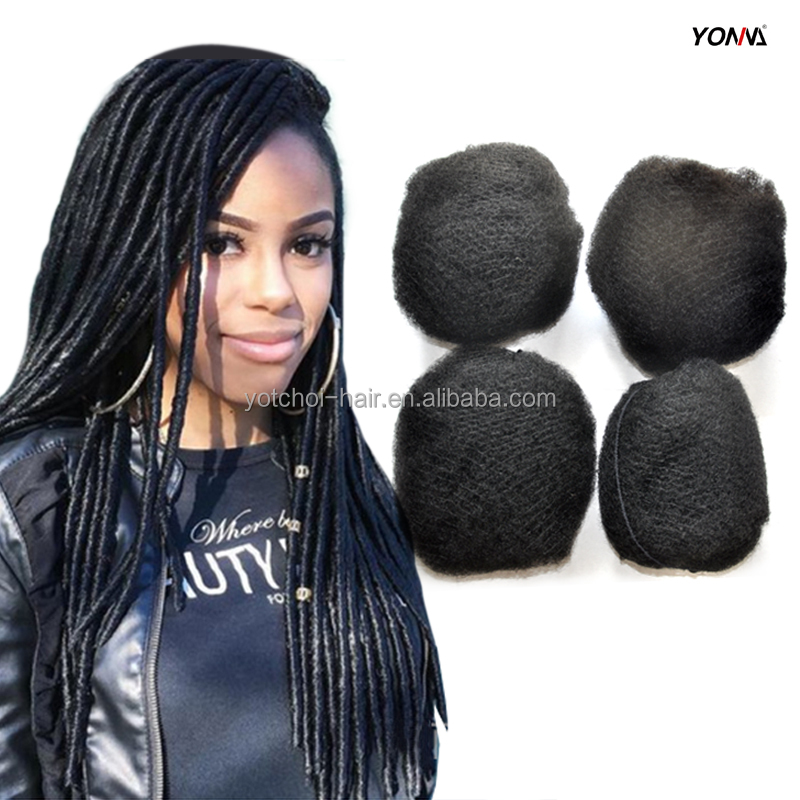 Yotchoi 4pcslot Tight Afro Kinky Hair For Braiding 100 Human Hair