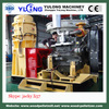 wood pellet machine diesel engine