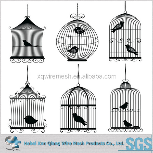 metal chinese bird cage for live canary birds