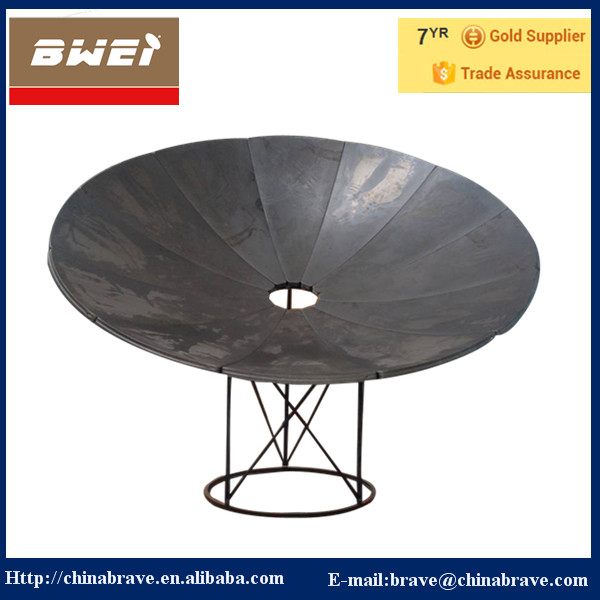 OEM Price China Supplier Ground Mount Parabolic Satellite 3M Dish Antennas