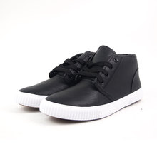 New Design Man Casual Black Mens Flat Sole Shoes