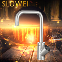Slowei B55YC Integrated Rotatable Electric Hot Water Kitchen Faucet Kitchenaid With Water Heater