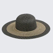 China wholesale supplier top fashion ladies floppy beach Summer Sun paper hats custom logo straw hat
