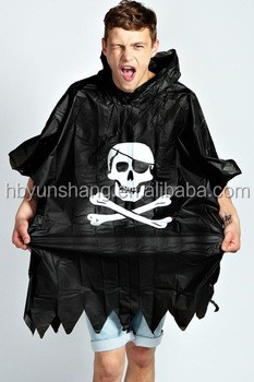 PVC plastic,Plastic Material and stylish Raincoats Type High Quality Adult long pvc rain poncho