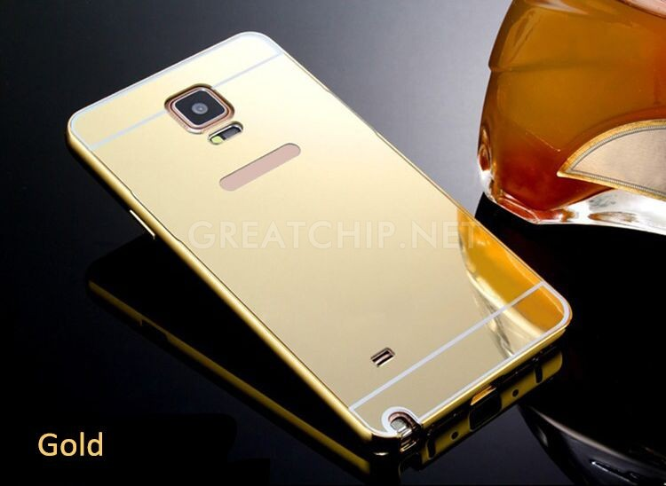 2016 ultra thin mirror cell phone cover case for samsung galaxy s5 metal bumper back cover case