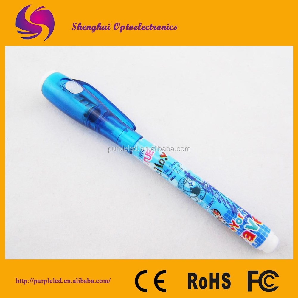Invisible Ink Pen/Novelty pen Funny Gift Spy Pen