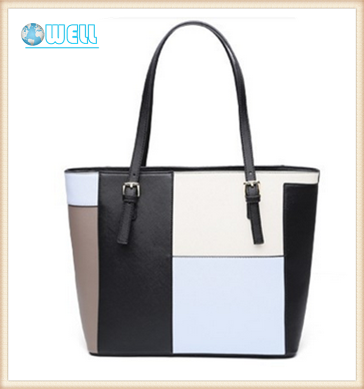 New Arrival Ladies' Bag Woman Leather Handbag Tote Bags Pop