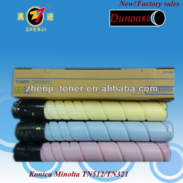 copier toner cartridge tn321 for compatible bizhub c224 c284