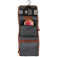 Bagtalk CS003JC Wholesale Foldable Waterproof Hanging Wash Bag Leather Toiletry Bag For Travel Home