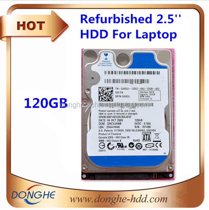 Wholesale electronic parts--second-hand computer lots for laptop hard drives 2.5inches 120gb scrap drives harddisk