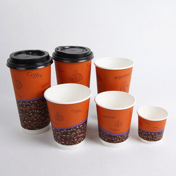 Attractive new design various size double wall paper cup