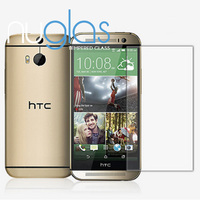 factory supply new model glass film for cell phones for HTC one M8 , OEM retail package with competitive price