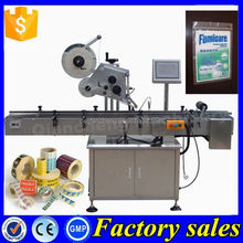 CE Certification automatic plastic bag labeling machine,top labeling machine