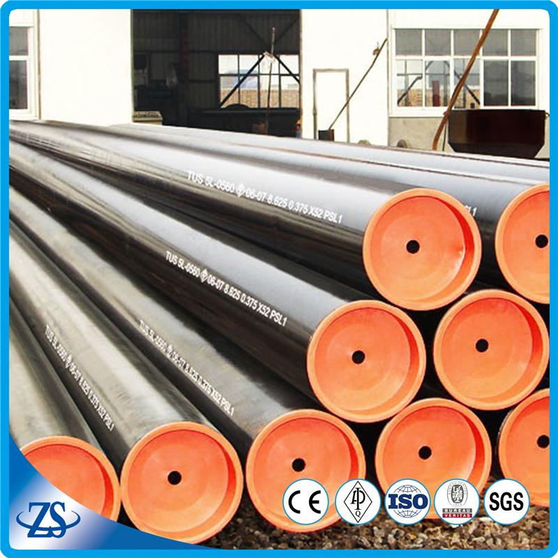 hot water boiler seamless mild steel pipe for structure tube