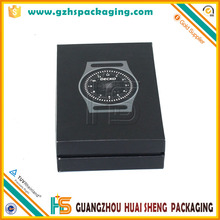 Fancy Custom Logo Velvet Inside PU Plastic Watch Gift Box for Watch Packaging Storage
