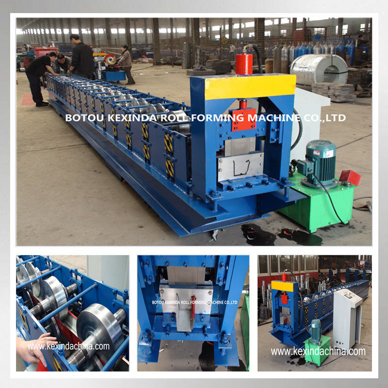 Kexinda used gutter machines for sale seamless gutter making machine with CE ISO