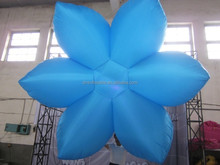 new design wedding stage decoration/giant inflatable flower decoration