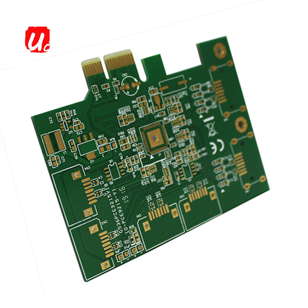 NO.1 Quick Turn FR4 1.6MM Immersion Gold 2 Layer PCB Board Factory Direct Sale