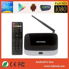 CS918 Andorid 4.4 1.8GHz 2GB RAM 8GB ROM WIFI HD Stick Rj45 Internet RK3188 Smart Tv Box With Remote
