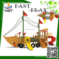 playground gym equipment wooden playground pirate ship