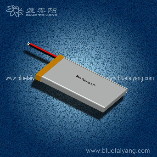 403761 600mAh lithium ion power battery