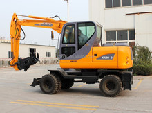 xiniu XN80-9 excavator sugarcane loader grab timber grab XN80-9 excavator hydraulic rotating grab