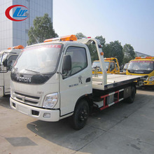 FOTON 4*2 Light Duty 4tons Road Recovery Vehicle Flatbed Wrecker Tow Truck