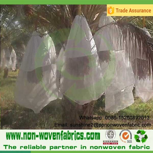 Agriculture nonwoven fabric to protect plants/vegetable/fruits