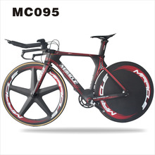 49/52/54/56cm Time Trail The discount price Road Carbon fiber TT Frame triathlon complete bike