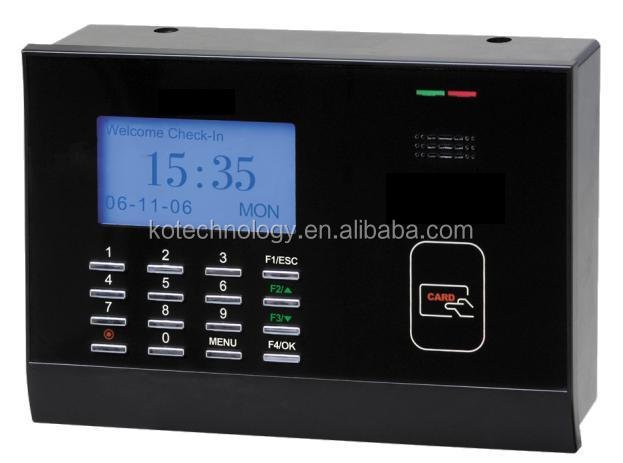 KO-M200 RFID Card Time Attendance ZK TECO