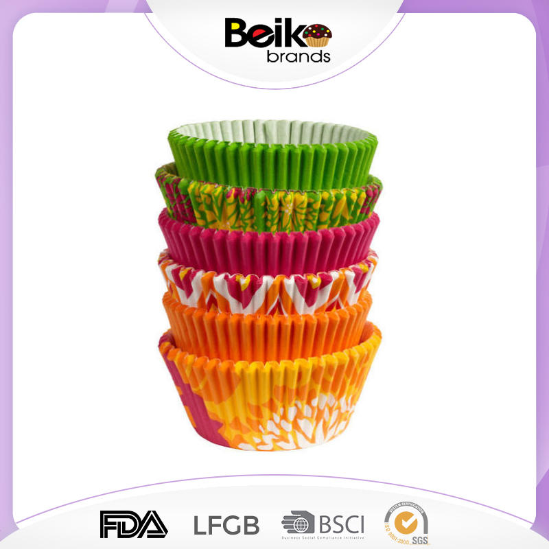 Colorful Paper Cake Cup Liners Baking Cup/ Muffin Kitchen tool cartoon cupcake
