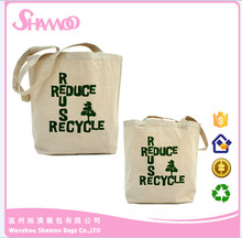 Reusabel 100% cotton shopping bag wholesales