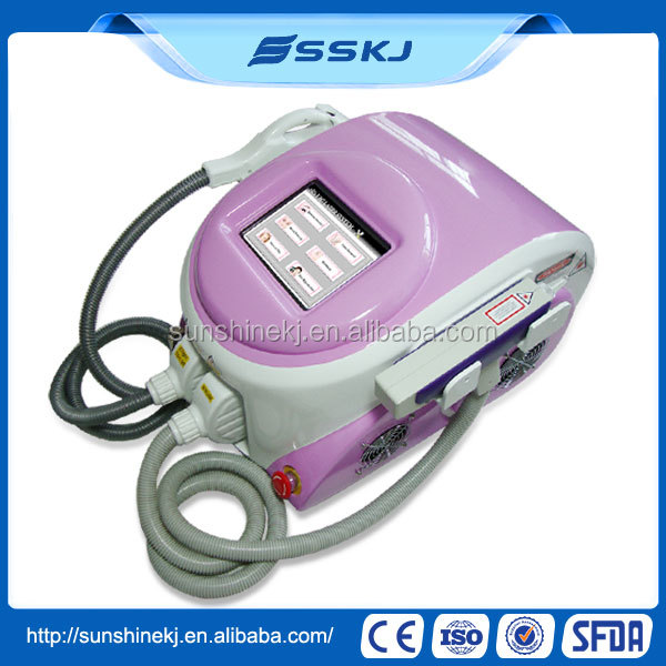 CE Approved 2 years warranty ipl microcurrent face lift facial machine