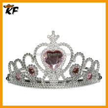 cheap silvery rhinestone christmas accessories festiva tiara