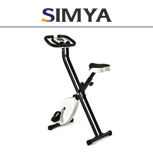 Body Fit folding X Shaped stationary exercise bike sports equipment