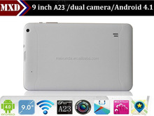 Christmas promotion 512mb ram 8gb flash dual core 9 inch tablet pc smart pad tablet pc digitizer